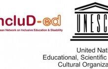 Logo incluD-ed & logo UNESCO