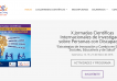 Pagina web del evento Jornadas Científicas Internacionales de Investigación sobr