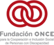 Visit the ONCE Foundation website. This link will open a new window